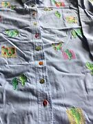 Quacker Factory Lot Of 3 Cotton Shirts - Excellent Cond - 1x And Xl