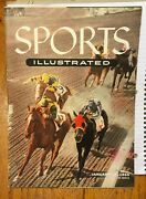 1955 Sports Illustrated - Jan 10th Magazine = No Label= Horse Racing