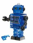 Beverly Crystal 3d Puzzle Robot Blue 39 Piece 50203 F/s W/tracking Japan Ne