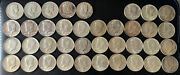 Silver Half Dollar 50 Cents Investment Lot 132 X 40 And 38 X 90 See Pictures