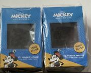 2021 Niue Chibi Disney Series Minnie Mouse 1oz Silver Coin. Lot Of 2 - In Hand