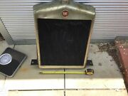 Fiat Vintage 100 Year Old To 509 Radiator 1920s As Per Photos Stored Decades