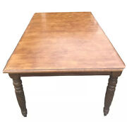 Ethan Allen British Classics Carved Dining Room Confernce Table