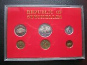 Seychelles 1982 Proof Collection Set Of 6 Coins 1 Cent - 5 Rupees By Royal Mint