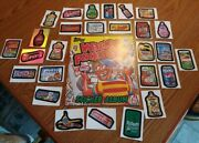 1982 Wacky Packages Sticker Album Stickers In Book Attached And New Stickers 2007