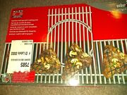 Weber 7585 Gourmet Barbeque System Summit 600 Series Stainless Steel Grates, New