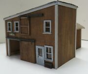 Industrial Plant Or Warehouse, Wood, Built, Weathered, Ho