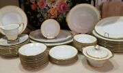 Noritake Antique China Classic Heavy Gold Trim Last Produced 100+ Years 1921