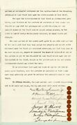 George Westinghouse Jr. - Document Signed 01/27/1896 With Co-signers