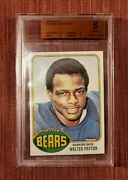 1976 Topps 148 Walter Payton Chicago Bears Rookie Football Card Bvg 8 Nm/mt Rc