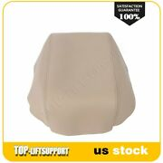 For Toyota Camry 2007-2011 Beige Center Console Lid Armrest Cover Leather