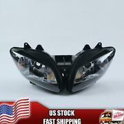 Mt Front Motorcycle Headlight Headlamp Fit For Yamaha 2002-2003 Yzf R1 Q010