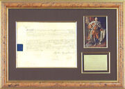 King George Iii Great Britain - Military Appointment Signed 07/18/1799 With Co