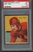 1935 National Chicle 27 Bull Tosi Rookie Card Rc Psa 3.5 Vg+ High Number
