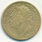 1821 Great Britain Gold Sovereign-george Iv-nice Circulated Gold Coin-ships Free