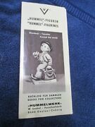 1970 Hummel Goebel Figurines Catalog Price Guide For Collectors Western Germany
