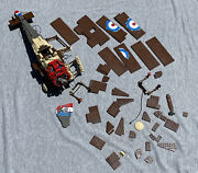 Lego Sculptures Sopwith Camel Set 3451, No Complete, Box, Instructions, Stickers