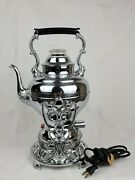 Vintage United Automatic Coffee Maker 550 W/ornate Stand And Cord