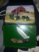 Smith And Wesson John Deere Tractor Ride Knife And Tin Sandw Tractor Ride Sealed