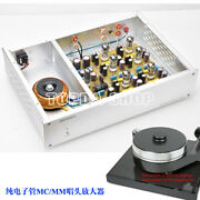 Reference German D.klimo Tube Lar Gold Plus Mc+mm Phono Finished Amplifier