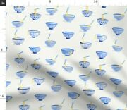 Chinese Noodle Bowl Spoonflower Fabric By The Yard