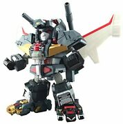 Es Alloy Chojyukisin Dancouga Height Approx 150mm Die-cast Painted Action Figure