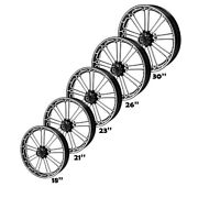 18/21/23/26/30and039and039 Front Wheel Rim Hub Fit For Harley Road King 2018-2021 Non Abs