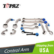 New 13pcs Front And Rear Control Arm Kit For Audi A6 C6 Rs6 S6 3.0l 2004 - 2011