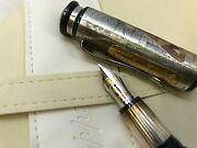 Montegrappa And039sophiaand039 Medium Fountain Pen With Case Box 0992/1200 - Isown3s0