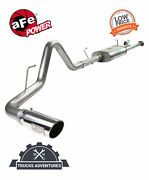 Afe Filters 49-46006-p Mach Force-xp Cat-back Exhaust System Fits 07-09 Tundra