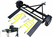 Ez Haul Stand Up Car Tow Dolly With Hydraulic Brakes