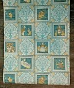 New Discontinued Brunschwig And Fils Tile Tales Wallpaper Single Rolls Lot Of 5
