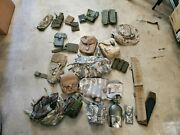 Military Surplus And Tactical Gear Lot