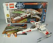 Lego Star Wars 9493 X-wing Starfighter Set W/ Minifigures Box And Manual 99