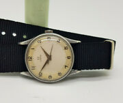 Very Rare Omega Gb/159 A27170 Silver Dial 30t2 Manual Wind Manand039s Watch