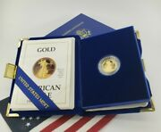1/10 Ounce Gold Bullion Coin American Eagle Fine Pure Liberty P Proof Round 999