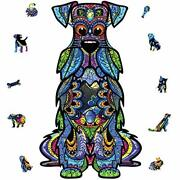 Wooden Jigsaw Puzzles, 200 Uniquely Shaped Animal-shaped Puzzle Pieces, The