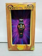 2000 General Mills Monsters Watch, Boo Berry, Franken Berry, Count Chocula W Box