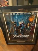 Avengers Cast And Stan Lee Signed Poster Celeb Auth Coas