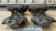 1989-1995 Nissan 300zx Z32 Fairlady Front Rear Rh Lh Brake Calipers And Pads Jdm