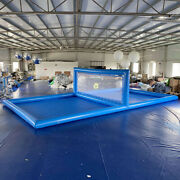Giant Inflatable Volleyball Court Inflatable Beach Volleyball Net For Sport Game
