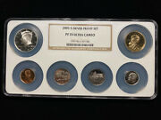 2005 S Silver Proof Set Ngc Pf70 Silver Perfect Ultra Cameo