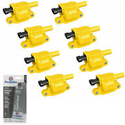 8 Pack Energy Ignition Coil And Grease For Chevrolet 2012 6.0l 5.3l 4.8l 5.7l V8