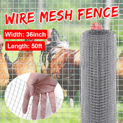 36andtimes50and039 Galvanized Hardware Cloth Metal Mesh Fencing For Animals Chicken Garden