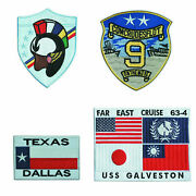 Top Gun Embroidered G1 Flight Jacket Patch Set 001 4 Large Patches