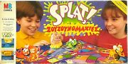 Vintage Mb Games Splat The Bug Squishin Race Board Game Used Boxed Greek Rare