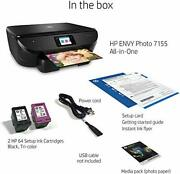 For Parts Hp Envy Photo 7155 Photo Printer W Wireless Printing Hp Instant Ink