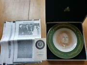 President Harry S. Truman Pickard China Plate Mib News Articles Independence Mo