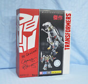 Transformers Masterpiece Grimlock Signed By Gregg Berger Misb Autographed