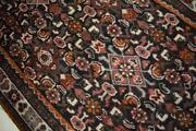 3and0391 X 9 Semi Antique Kurdish Tribal Hand Knotted Oriental Carpet Wool Runner Rug